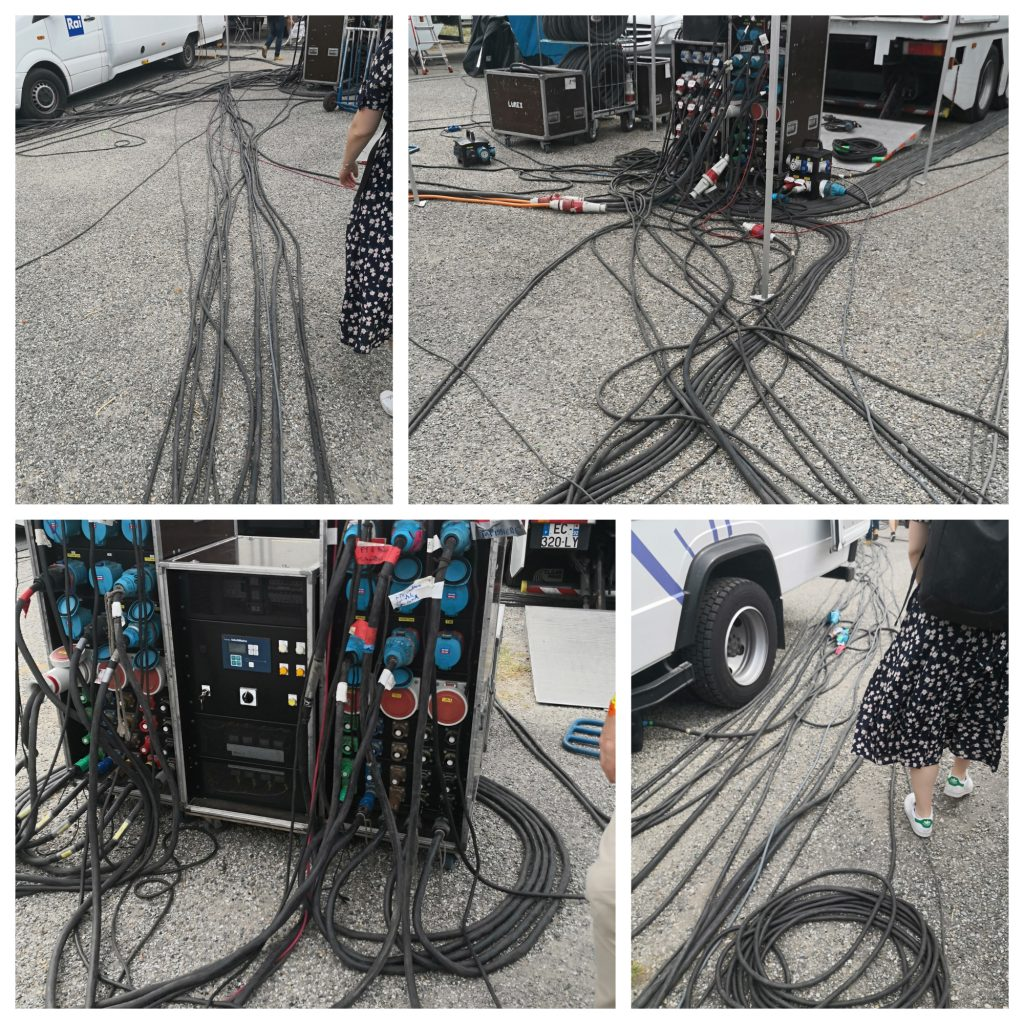Cables in Technical Zone