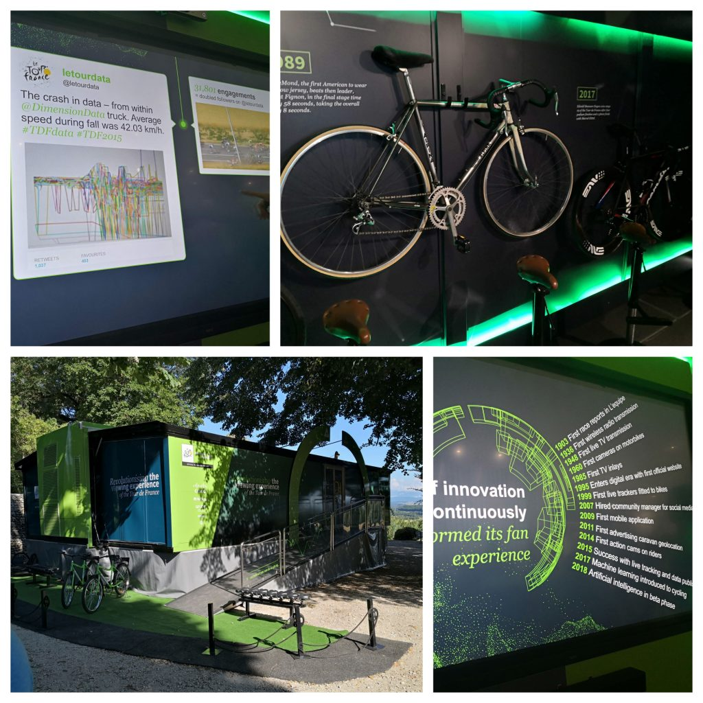 Dimension Data Tour de France Visitor Experience Centre