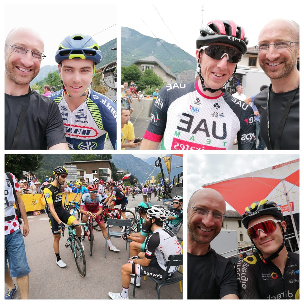 It was incredible to have such intimate access to such wonderful riders - Dion Smith, Dan Martin & Thomas Boudat