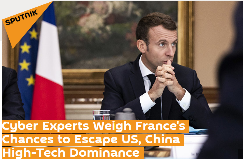 Professor Kevin Curran, Ulster University in an interview with Sputnik News on France seeking to reduce its dependence on US technological dominance by switching from Google to French search engine Qwant.