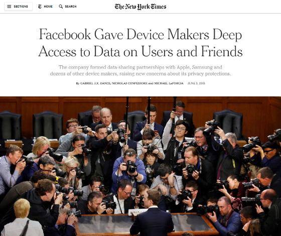 Professor Kevin Curran, Ulster University on BBC Radio Ulster speaking about #Facebook sharing the contents of users' private messages with other companies on a scale greater than it has publicly admitted, according to leaked internal documents obtained by the New York Times.