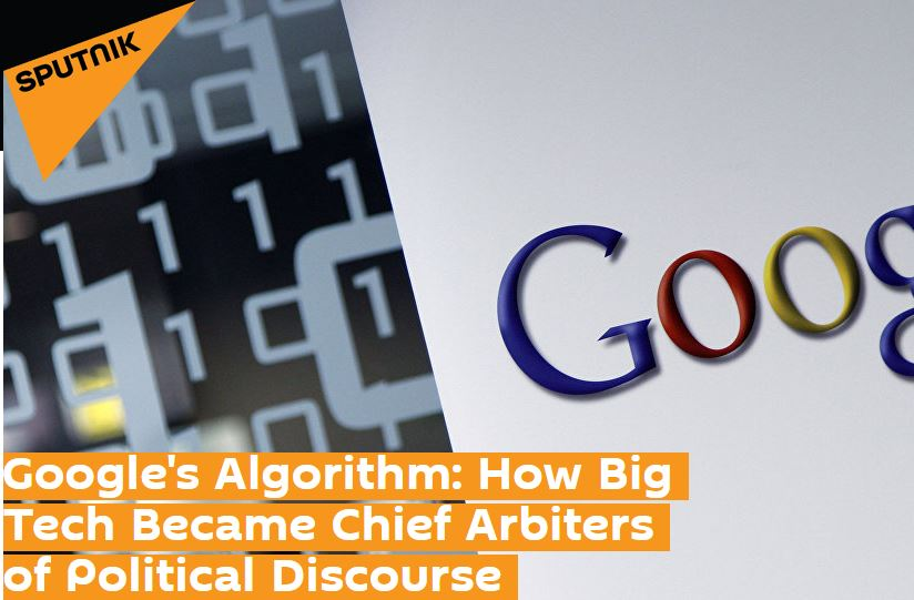 Professor Kevin Curran, Ulster University in an interview in Sputnik News on the controversy surrounding Google's aggregation algorithm with regard to the purported censorship of conservative political discourse by the Silicon Valley giant.