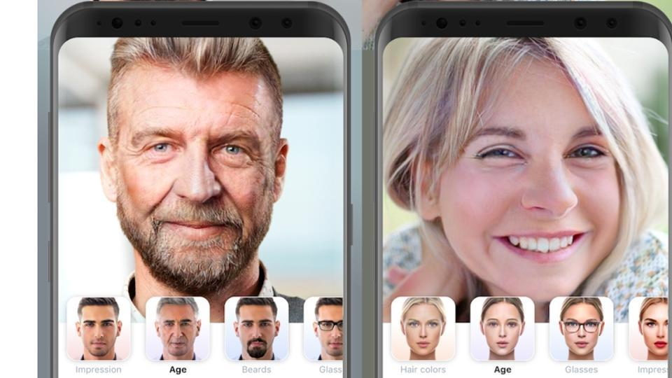 Professor Kevin Curran, Ulster University in an interview on Highland Radio Nine till Noon Show about FaceApp which edits photos of people's faces to show younger or older versions of themselves.
