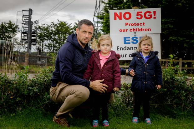 Professor Kevin Curran, Ulster University in an interview with The Irish Independent about the lack of evidence to support fears over 5G mobile networks leading to health risks.