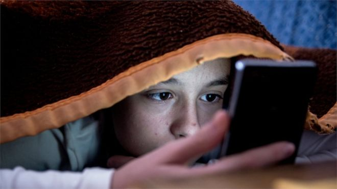 Professor Kevin Curran, Ulster University in an interview on BBC Radio Foyle News at One about a Childwise report which found that more than half of children say they sleep with their mobile phone beside their bed.