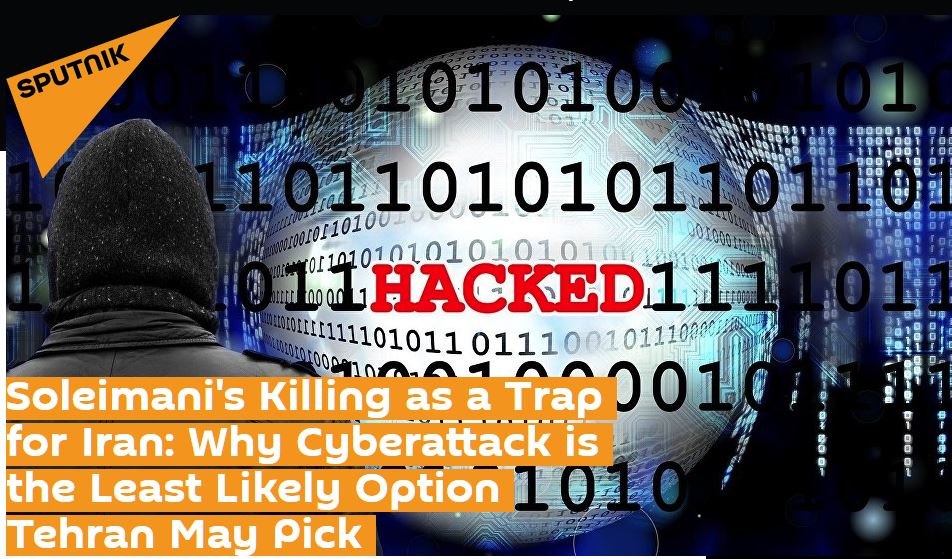 Professor Kevin Curran, Ulster University in an interview with Sputnik News on the likelihood of Iranian cyber attacks.