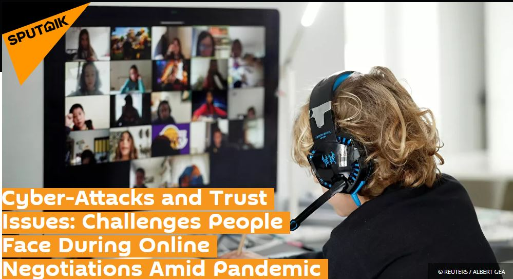 Professor Kevin Curran, Ulster University in an interview with Sputnik International on best practice in communicating securely during the pandemic.