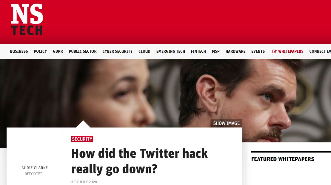 Professor Kevin Curran, Ulster University in an interview with New Statesman on preventative measures Twitter could have taken to prevent the phishing attack which led to the recent hack.