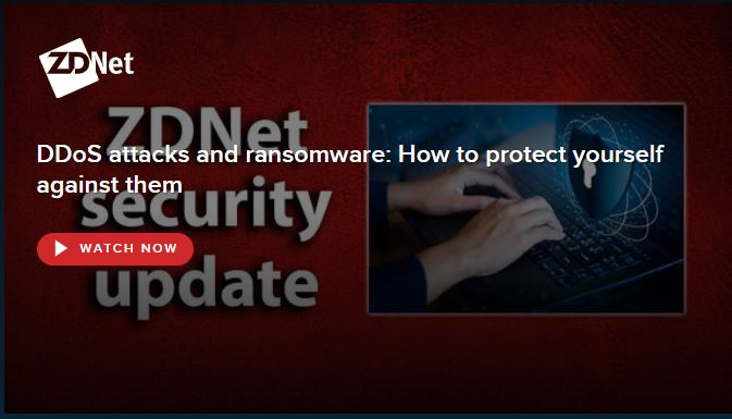 Professor Kevin Curran, Ulster University in an interview with ZDNet on how to mitigate against DDOS attacks and ransomware.