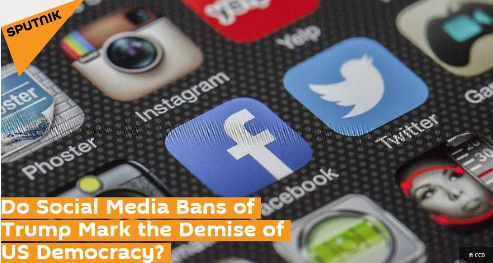 Professor Kevin Curran, Ulster University in an interview with Sputnik News on the consequences of breaching the abuse guidelines in place by all social media networks.