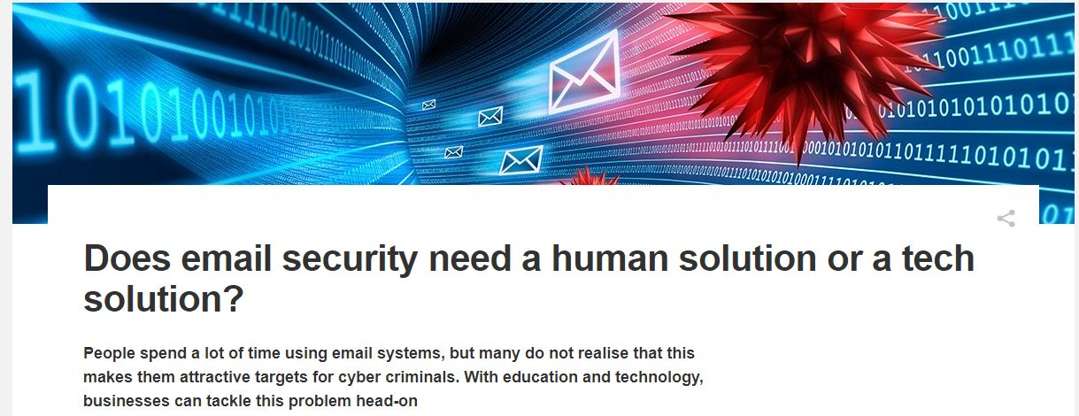 Professor Kevin Curran, Ulster University in an interview in Computer Weekly about how IT teams must have a holistic understanding of and approach to enterprise cyber security to combat phishing emails.
