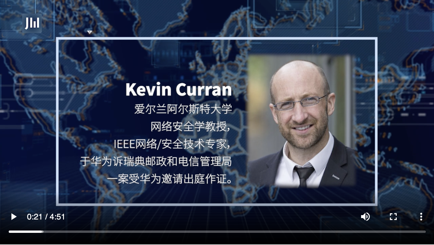 Professor Kevin Curran, Ulster University in an interview with IJIWEI Talk (China) on whether Open RAN leads to more resilient network or is a security threat.