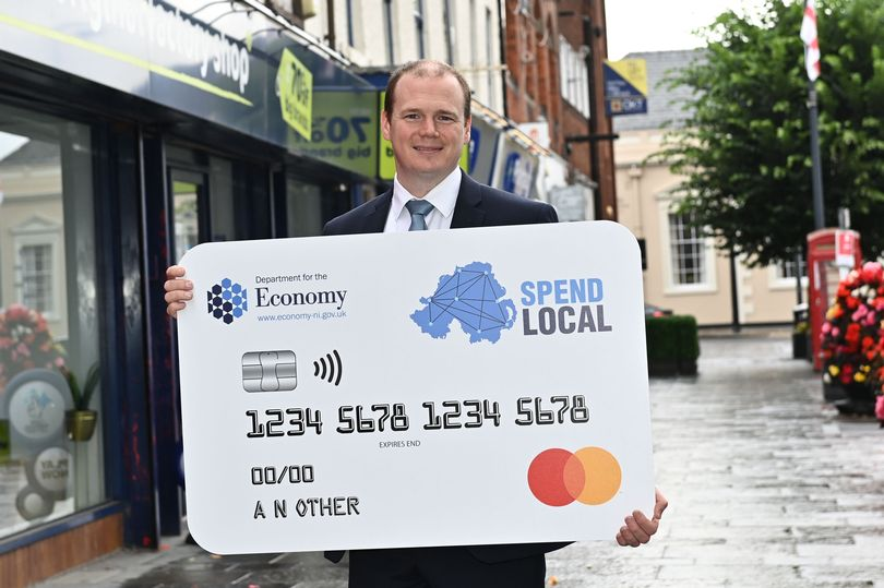 Professor Kevin Curran, Ulster University in an interview with BBC Radio Ulster on almost 500,000 requests having been made for Northern Ireland's high street voucher scheme - but some people complained that they could not access the website used for the process.
